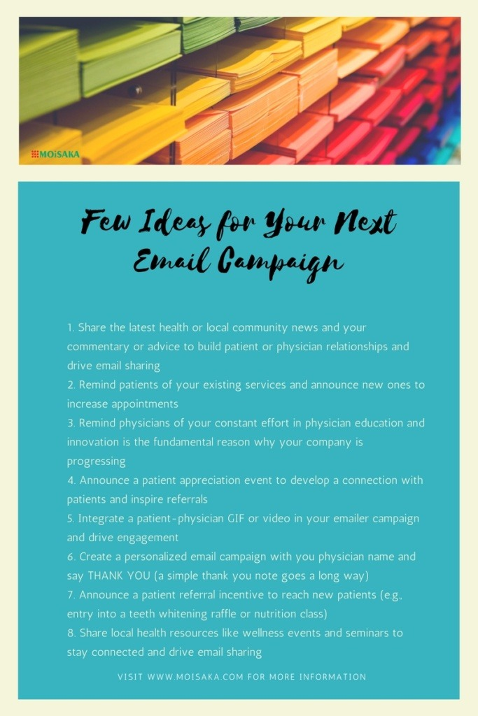 Healthcare Email Marketing | Few Ideas for Your Next Email Campaign