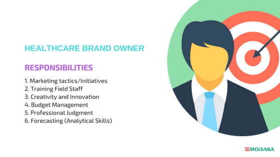 physician and pharma brand manager