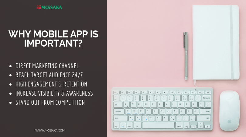 Why Mobile App is Important - Moisaka Solutions